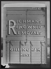 Richman's Renowned Removals (SemmyTrailer) Tags: eca40 bedford lorry truck pantechnicon richman removals gillingham kent renowned removers storers van