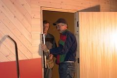 """Bygging 100 meter. Leiv Ivar og Øystein får det """"i vater og vel så det""""... • <a style=""""font-size:0.8em;"""" href=""""http://www.flickr.com/photos/93335972@N07/8496549707/"""" target=""""_blank"""">View on Flickr</a>"""