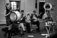Tuba Skinny on Royal (buy_aapl) Tags: musicians streetperformers neworleans frenchquarter royalstreet tubaskinny erikalewis