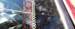 Aha! (sjrankin) Tags: car closeup edited crack windshield dangit 23february2013