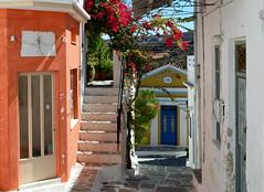 Lefkes (blue foot) Tags: holiday village greece colourful quaint greekislands paros bej