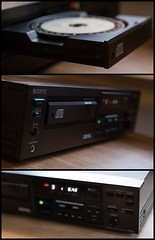(Louis de Leeuw) Tags: sony es cd compact disc player first generation digital audio pcm cdp 501es extreme standard made japan exclusive heavy build quality vintage eighties high fidelity hifi consumer smc takumar 50mm 14 m42 bokeh depth field dof pentax k5