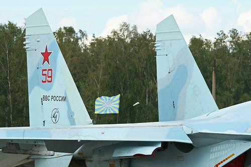 Sukhoi Su-27SM-3 Flanker '59 red'
