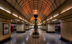 Gants Hill Underground (LeePellingPhotography.co.uk) Tags: city london art underground hill tube central charles line deco holden gants