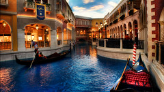 The Grand Canal (wbeem) Tags: travel usa tourism water nikon lasvegas nevada indoor william architectural northamerica gondola watercraft hdr grandcanal thevenetian beem digimarc photomatix tonemapped nikonnikkor colorefexpro niksoftware d700 unrecognizableperson glamourglow wbeem 2470mmf28g darkenlightencenter procontrast afszoomnikkor2470mmf28ged brilliancewarmth williambeem