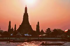 Wat Arun, Bangkok, Thailand (kingdomany) Tags: world color art nature beauty architecture landscape asian thailand temple photo ancient nikon scenery flickr tour earth bangkok buddha traditional sightseeing thai pattaya ayutthaya aisa khaoyai d90 buddhalism