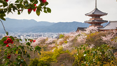 Kyoto from the hills (1000images) Tags: travel japan landscape spring kyoto asia   kansai buddism  kiyomizu kiyomizudera kanto 2012 honshu  otowasankiyomizudera  kyotoprefecture kytoshi otowasan kyotoshi