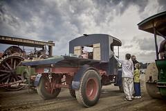 Vintage Foden Steam Truck (popparartzzi photography) Tags: storm clouds truck vintage australia steam topaz tractionengine foden topazadjust popparartzzi