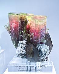 Quartz, Tourmaline, Albite (Jake Slagle) Tags: afghanistan mineral specimen afghanis gemmineral nuristanprovince