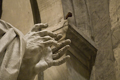 almost praying (luca19632 - Luca Cortese) Tags: italy rome detalle detail roma art church monument monochrome statue monocromo italia colore hand arte cathedral catedral iglesia mani manos monochromatic chiesa explore particular marble travertine minster mains sanpietro estatua statua italie interno stpeter marbre vaticancity cattedrale dettaglio giorno marmo travertin monocromatico travertino cittdelvaticano explored camaieu mrmol glise cathdrale dtail