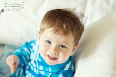 Easton (Kim King) Tags: boy baby cute love smile fun happy 50mm sweet adorable d90