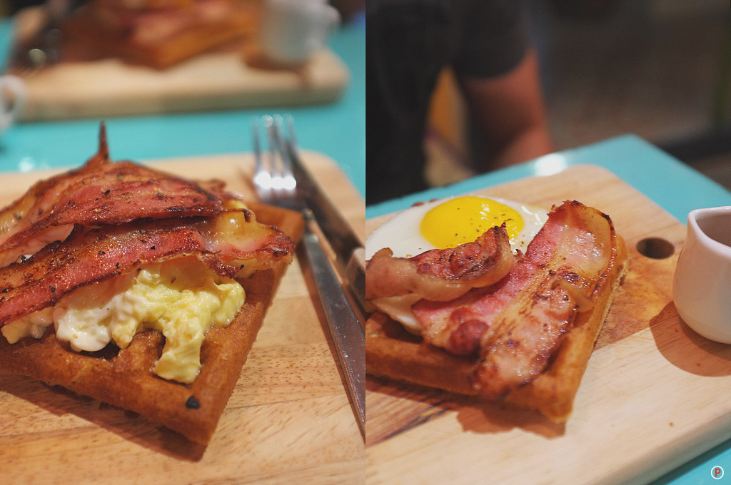 Piknik - Waffle Bacon + Waffle Bacon & Egg