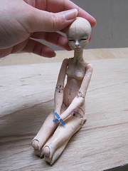 Ruse (aneemal) Tags: ball miniature doll handmade polymerclay fimo clay figure bjd 16 resin moulding casting articulated sculpted polyurethane joints jointed polymer ruse balljointed balljointeddoll poseable heartstrung mouldmaking fimopuppen heartstrungdoll