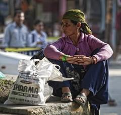manali lady (sami kuosmanen) Tags: woman india house lady market cloth himalaya manu manali himachal pradesh sharma nainen intia vftw