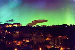 ! (CristinaSeijas) Tags: houses sky cloud clouds buildings stars edificios village pueblo ufo cielo nubes estrellas casas nube ovni lagomera sansebastin
