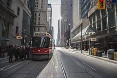 In Transit (Jack Landau) Tags: street toronto king ttc rush hour streetcar