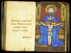 ZYCZENIA_jnowak64 (jnowak64) Tags: poland polska krakow cracow mik malopolska wielkanoc zyczenia klasztor krakoff witraz