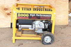5002. Electric Generator, Titan Industrial