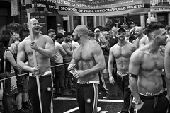 July 2012 (danielleonard1) Tags: street bw london muscles canon demonstration pride2012