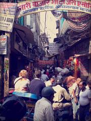 traffic (paologmb) Tags: life street leica people india vintage eyes chaos helmet streetlife human cables varanasi 35 hindi streetview benares risho uttarpradesh iphoneography istagram ppa53e