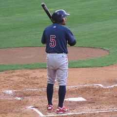 Andres Blanco At Bat (tjperr) Tags: baseball phillies minorleaguebaseball pawtucket philadelphiaphillies aaabaseball mccoystadium pawtucketri tripleabaseball infielder internationalleague andresblanco ironpigs lehighvalleyironpigs internationalleaguebaseball
