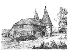Dunbury Farm Oast Houses, East Sutton, kent
