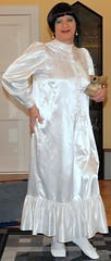 Birgit014053 (Birgit Bach) Tags: shiny satin nightgown glnzend nachthemd