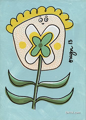 ONYN-00804a (ONYN Paintings) Tags: uk original summer england urban sun flower colour london art english love wall modern illustration wonderful garden children fun happy design graphicdesign spring amazing fantastic funny colorful paint humorous artist outsiderart graphic image folk outsider contemporaryart contemporary originalpainting unique character humor creative dream picture wallart humour pop east petal canvas collection popart fantasy gift handpainted license laugh buy present childrens british illustrator colourful purchase collect britian whimsical collectable genuine eastlondon whimsicalart characterart outsidder onyn wwwonyncom