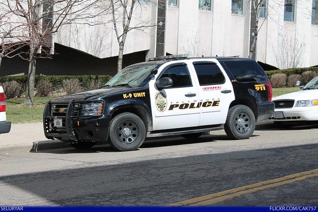 ohio chevrolet tahoe talmadge policedepartment