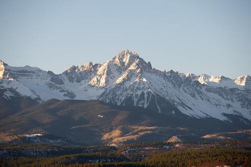 Recent views of Mt Sneffles