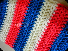 Cuello (cowl) (-=Call-911=-) Tags: blue white cold lana wool colors rose colours crochet vertigo colores cuello photoeffects cowl befunky befunkycom