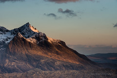Sgurr Nan Gillean (James G Photography) Tags: winter snow skye sunrise scotland isleofskye unitedkingdom cuillin elgol blackcuillin sgurrnangillean