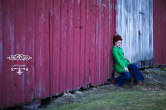 (aashee) Tags: red green female barn michigan ayesha aashee ayeshakhanphotography