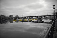 Ovals (HOARYHEAD) Tags: bridge reflection minnesota minneapolis mississippiriver twincities oval 3rdavebridge minneapolismn westriverparkway nikond700 nikon28300mm