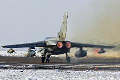 Tornado GR4 on the power (markranger) Tags: sun snow canon eos snowy jet tornado raf 087 gr4 marham 550d fastjet 300f4l zd739