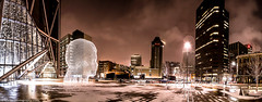 A night at Wonderland (Neil Zeller Photography) Tags: calgary alberta wonderland plensa bowtower