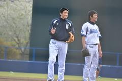 DSC_6651 (mechiko) Tags: 加賀美希昇 王溢正 横浜denaベイスターズ