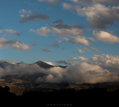 La nube (Ahio) Tags: blue sky nature clouds landscape shadows 100mm llanes cloudscapes sierradelcuera zf2 makroplanart2100