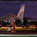 F-111 at night!