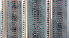 Shenzhen Flats (Ben Varley) Tags: poverty china skyscraper buildings flats shenzhen