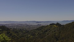 Berkeley Hills (rschnaible) Tags: california city bridge foothills by landscape oakland golden bay berkeley gate san francisco day cityscape sunny east hills clear area norcal northern