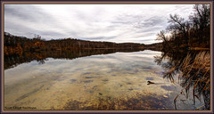 Longing Panorama (ScottElliottSmithson) Tags: panorama lake water clouds mi canon dark scott eos michigan holly 7d hdr smithson metrodetroit photomatix michiganstateparks michiganstatepark absolutemichigan michiganwinter michiganwoods wildwoodlake hollymichigan michigannature michiganwetlands hollystaterecreationarea eos7d puremichigan hollystatepark dtwpuck scottsmithson scottelliottsmithson