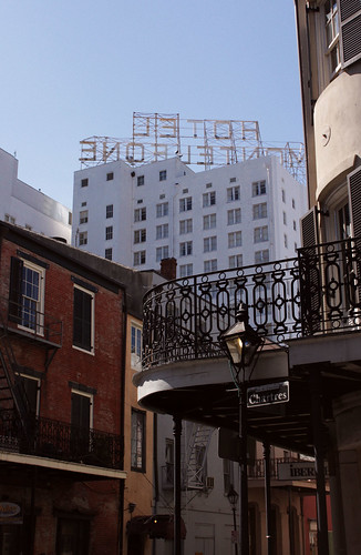 Hotel Monteleone backside