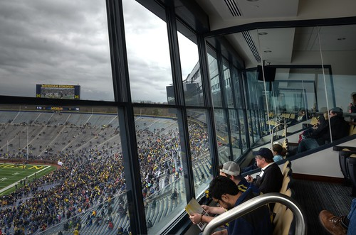 Michigan Stadium - Spring Game 2013