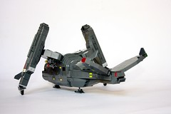 SRTAV 03 (Babalas Shipyards) Tags: lego space military air craft shuttle vehicle fi sci vtol dropship