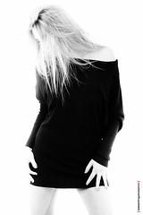 24 (Alessandro Gaziano) Tags: portrait woman girl fashion studio donna model foto flash makeup bn occhi sguardo fotografia ritratto biancoenero ragazza servizio modella alessandrogaziano