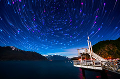 Cosmos - Explored! (Alexis Birkill Photography) Tags: snow canada mountains water vancouver stars dock britishcolumbia astrophotography nightsky constellations ferryterminal startrails seatoskyhighway porteaucove porteaucoveprovincialpark Astrometrydotnet:status=failed Astrometrydotnet:id=alpha20130447982350
