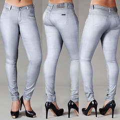 LUXE SKINNY JEAN (pzi-jeans) Tags: for women curvy jeans