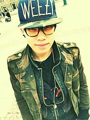 (Tommy Blue) Tags: blue tommy rapper flickrandroidapp:filter=none