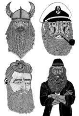 Illustrator Australia 2013 awards (Mulga The Artist) Tags: gold beards captain nedkelly viking joelmoore angryrickrubin illustratoraustralia2013awards selfpromotionalcategory